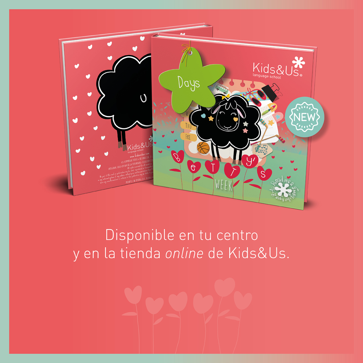 Betty's Week, el nuevo libro de la colección Betty the Black Sheep